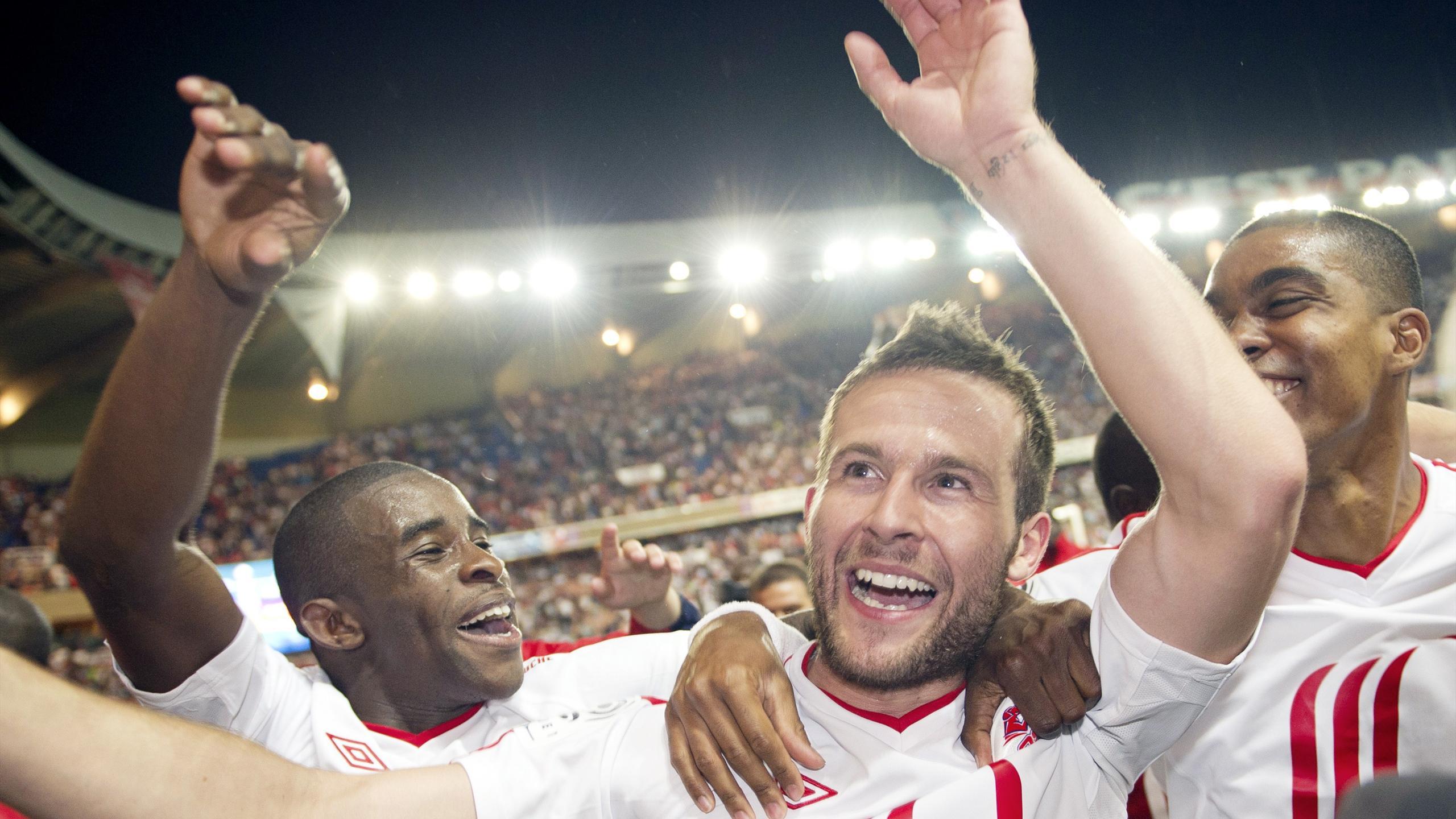Yohan Cabaye champion avec Lille