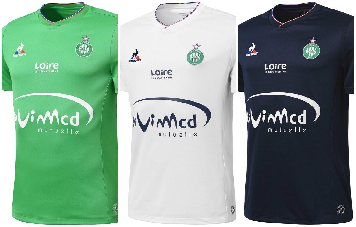 Формы Лиги 1 – Сент-Этьен