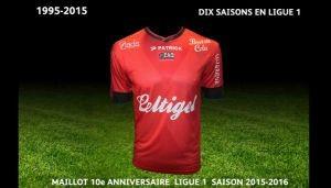 Maillot Guingamp domicile 2015-2016