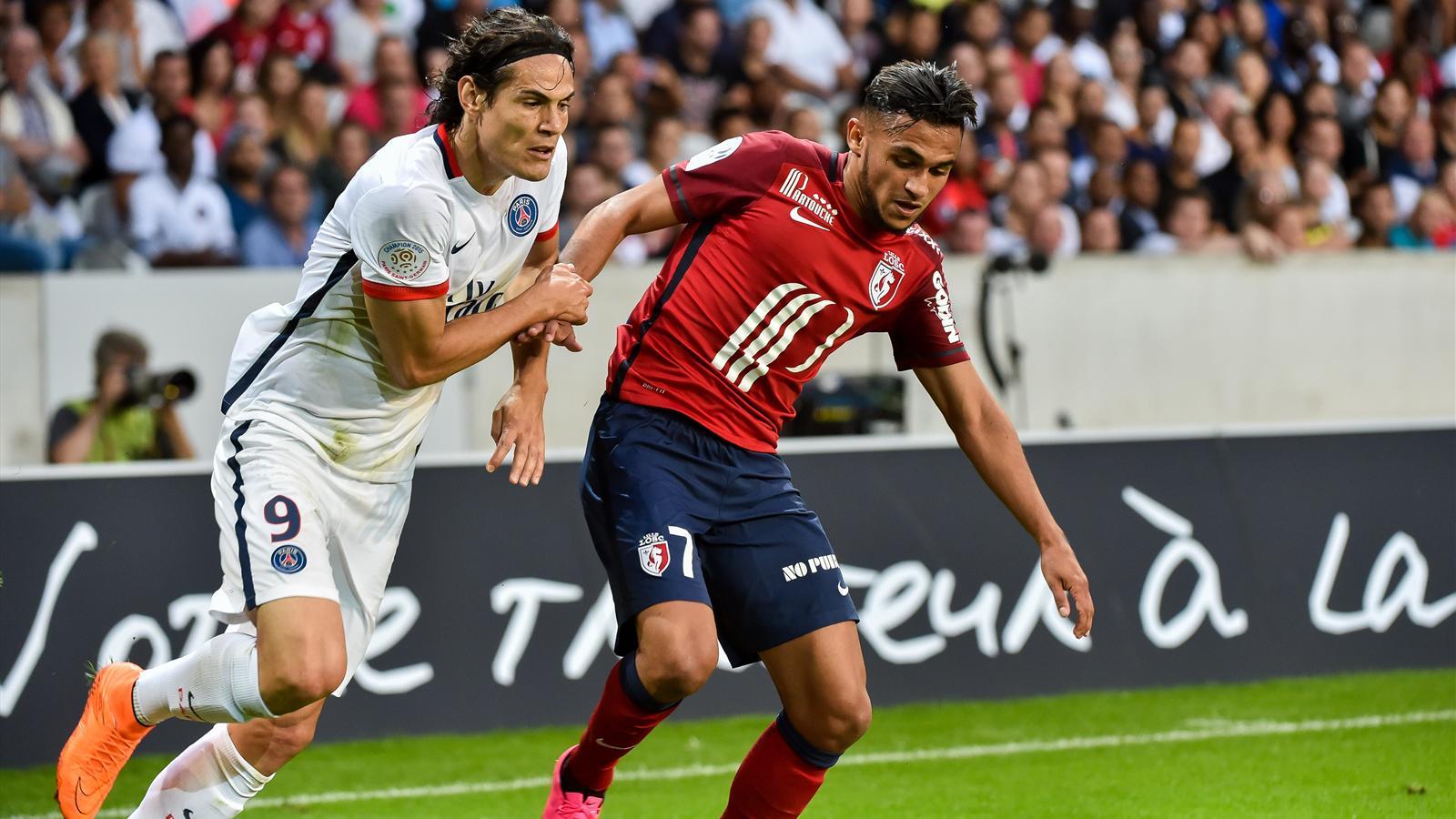 Cavani Boufal - Lille vs PSG - Ligue 1 2015/2016