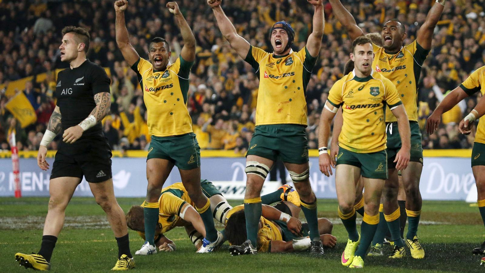 Australia Stun All Blacks To Win Rugby Championship Eurosport