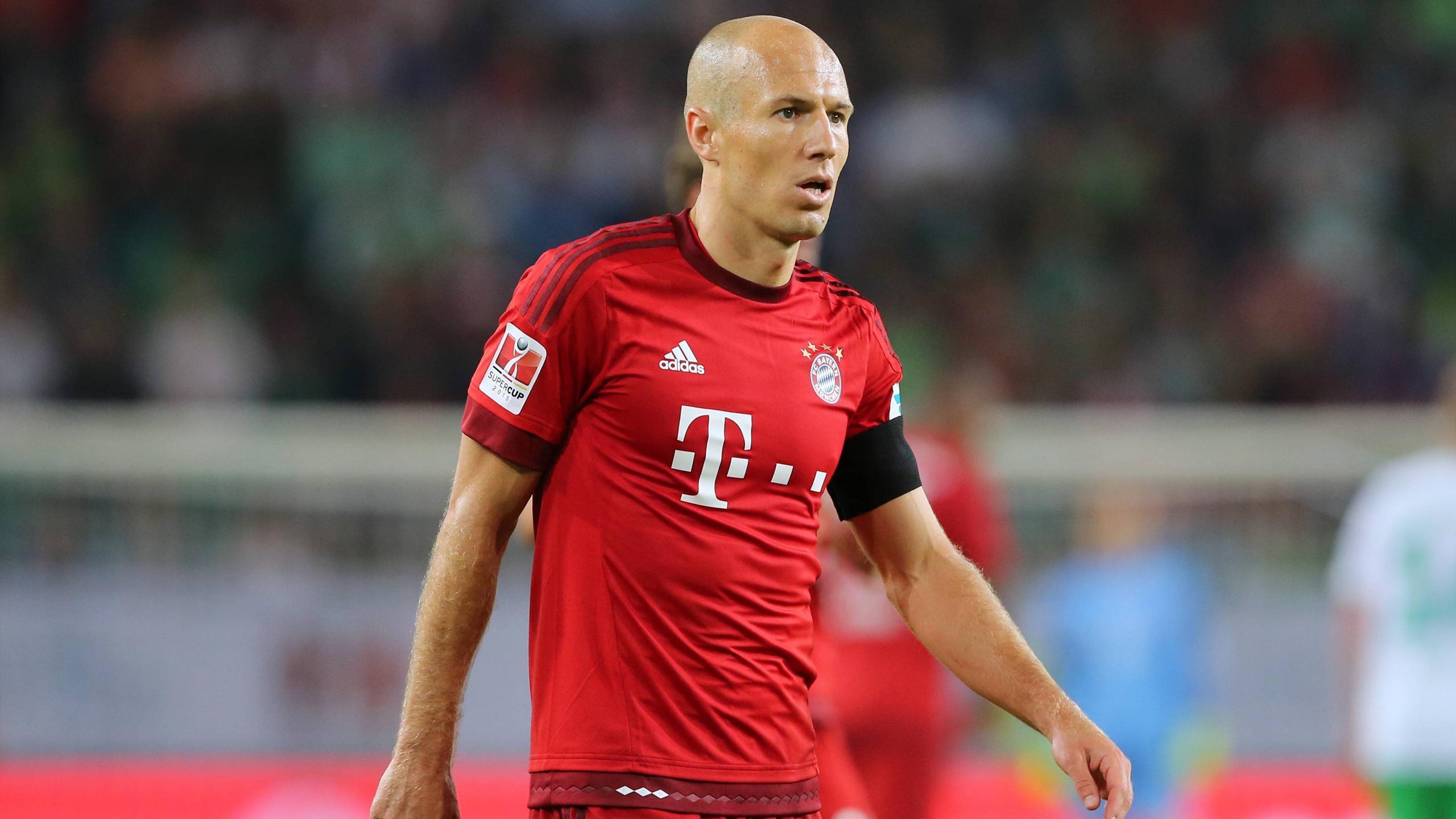 Im DFB-Pokal im Kader der Bayern: Arjen Robben