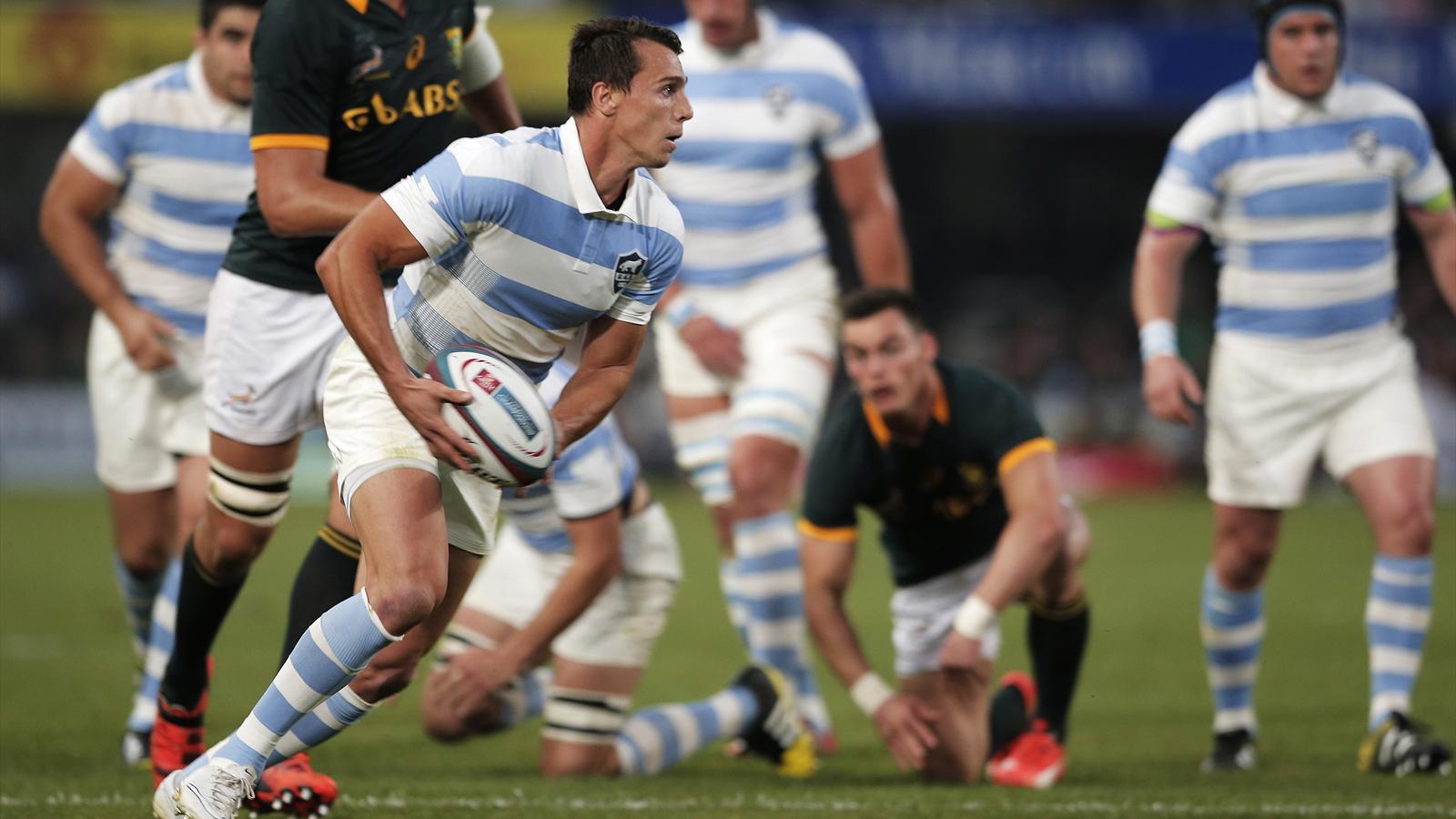 L'ailier argentin Juan Imhoff, auteur d'un triplé contre l'Afrique du Sud - 8 août 2015
