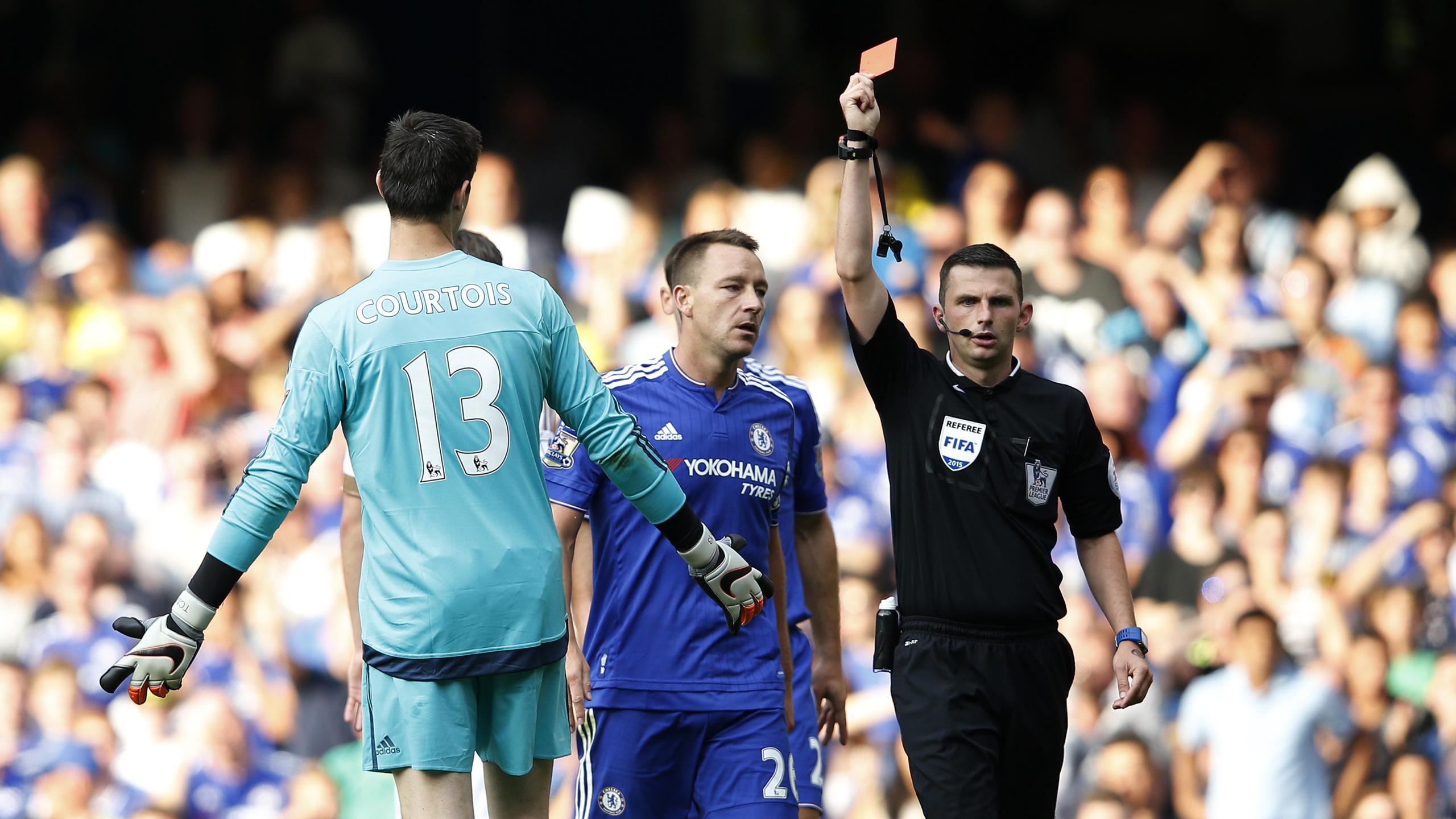 Thibaut Courtois (Chelsea) exclu pour l'ouverture de la Premier League 2015/2016