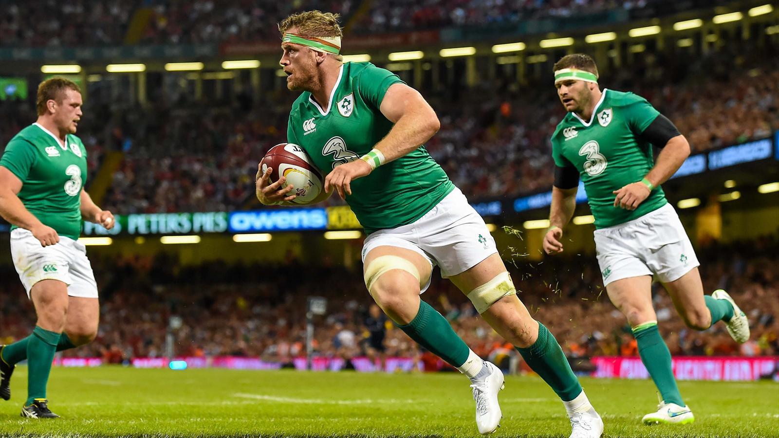 Jamie Heaslip (Irlande) face au pays de Galles - 8 août 2015