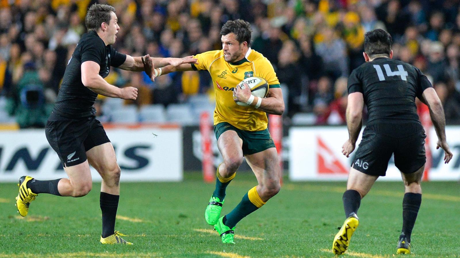 Adam Ashley-Cooper (Australie) face à la Nouvelle-Zélande - 8 août 2015