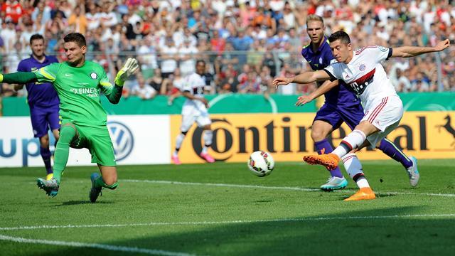 El Bayern pasa de ronda en la copa alemana con el primer gol de Vidal