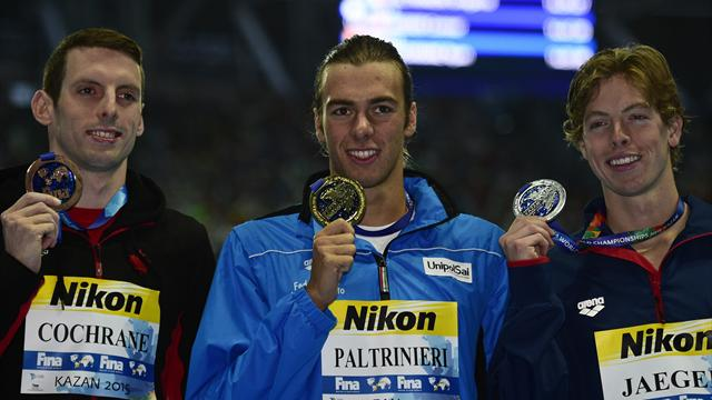 Gregorio Paltrinieri claims gold after Sun Yang withdraws