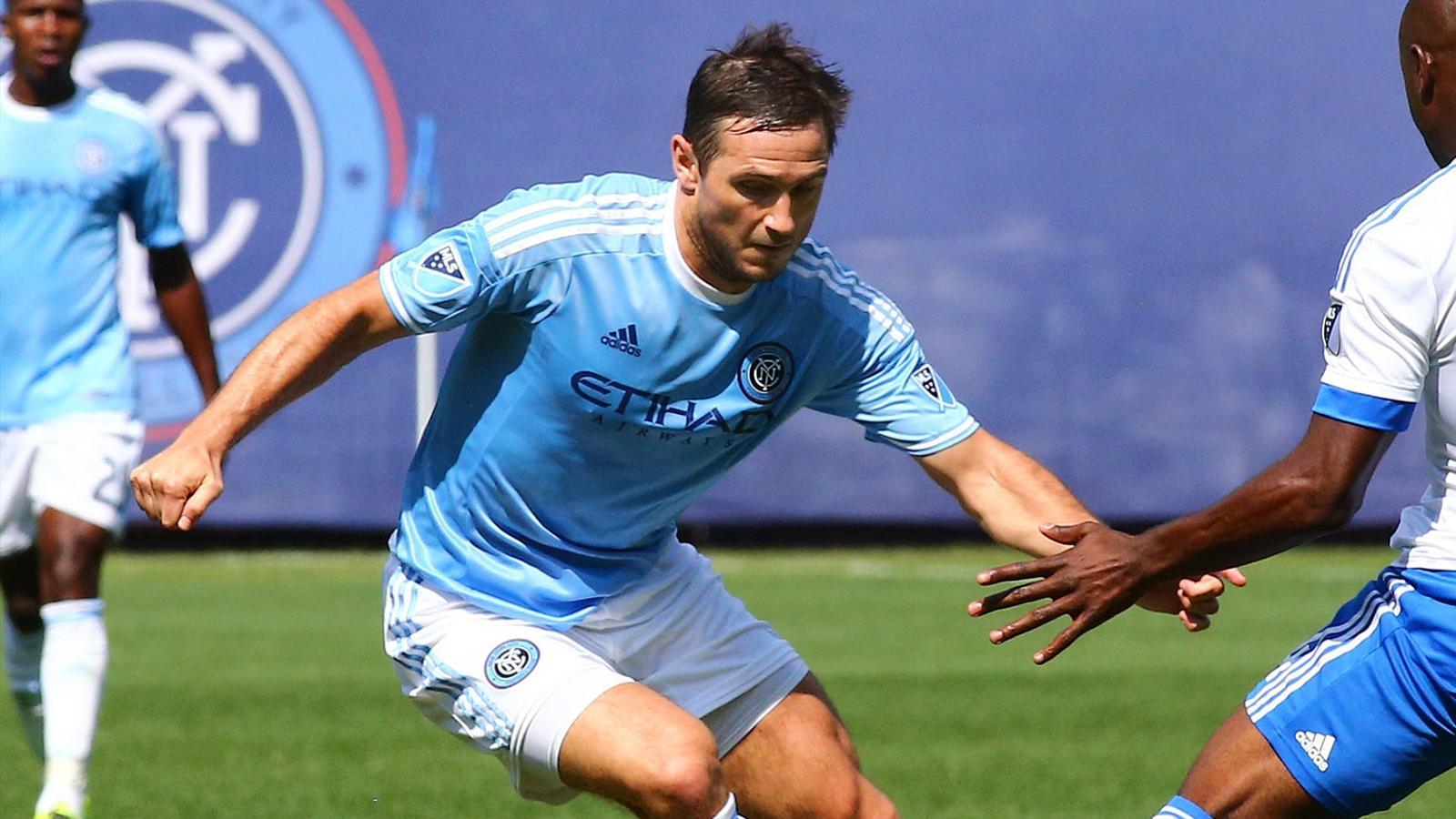 New York City FC's Frank Lampard