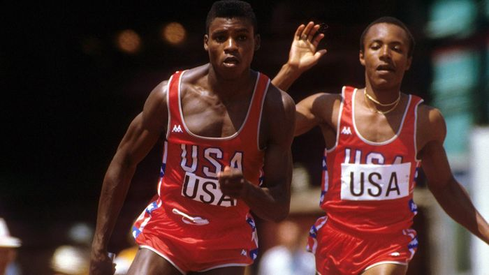 Image result for calvin smith and carl lewis