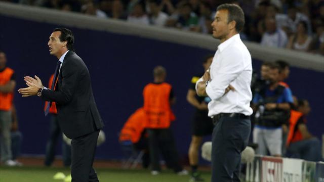 El futuro de Emery en el PSG se complica; Luis Enrique, en la recámara