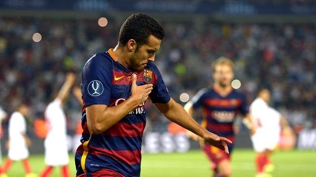 Has Pedro changed his mind about leaving Barcelona after scoring winner?