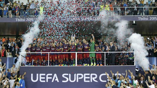 Tarihe geçen maçın sonunda Avrupa'nın en büyüğü Barcelona