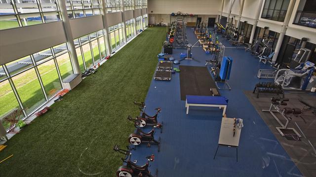 Le nouveau centre d'entraînement de Clermont, un bijou à la pointe de la technologie