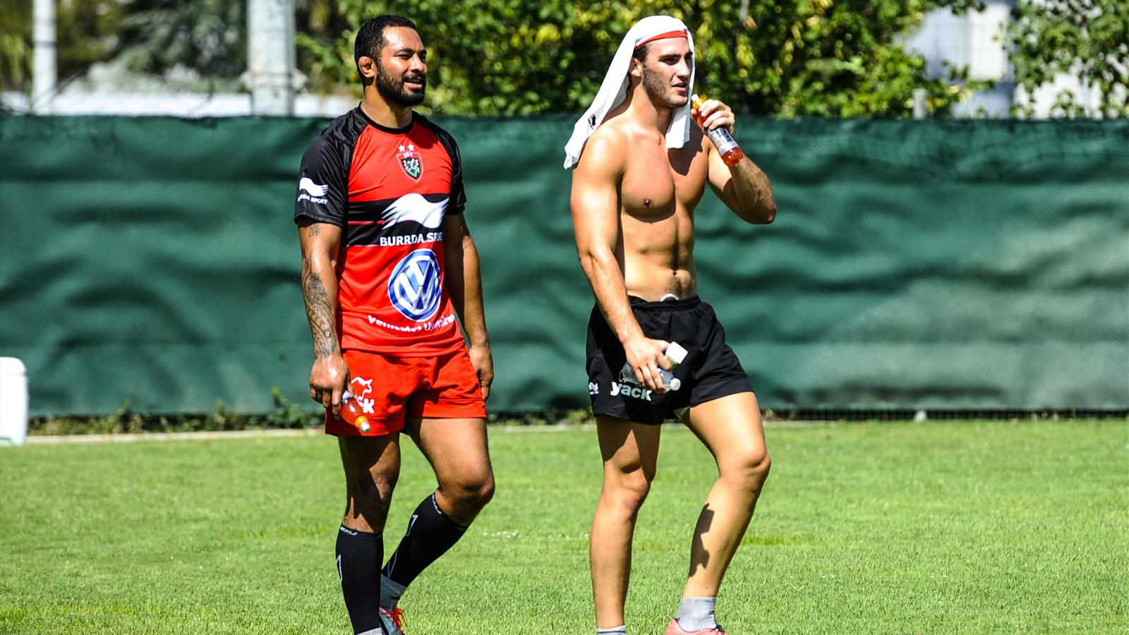 Samu Manoa et Charles Ollivon (Toulon) - 9 juillet 2015