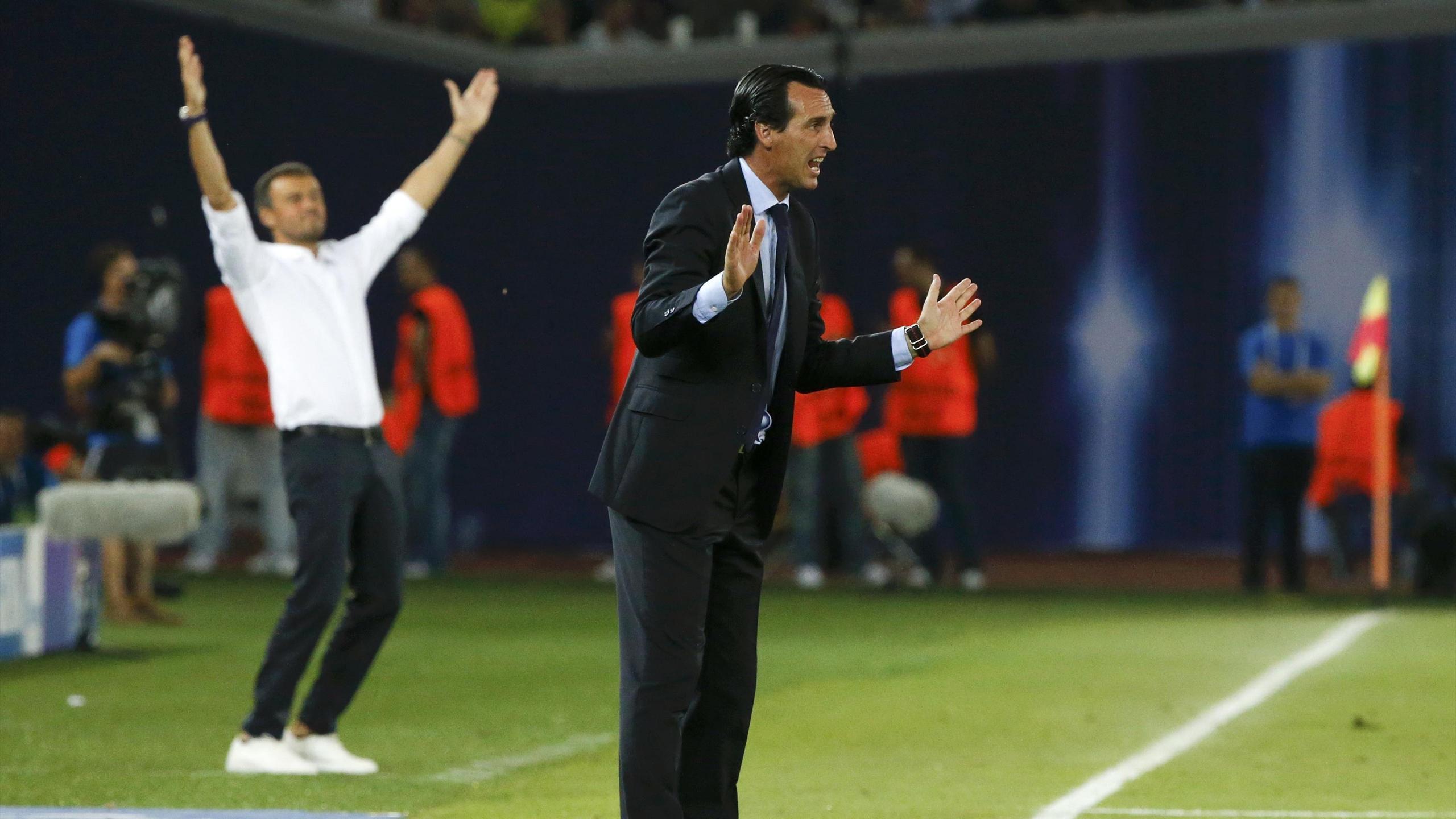 Unai Emery (FC Séville) était tout près de réussir son coup face au FC Barcelone de Luis Enrique