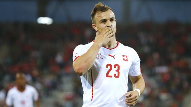 Il Kosovo entra nell'Uefa: Shaqiri guida il best 11