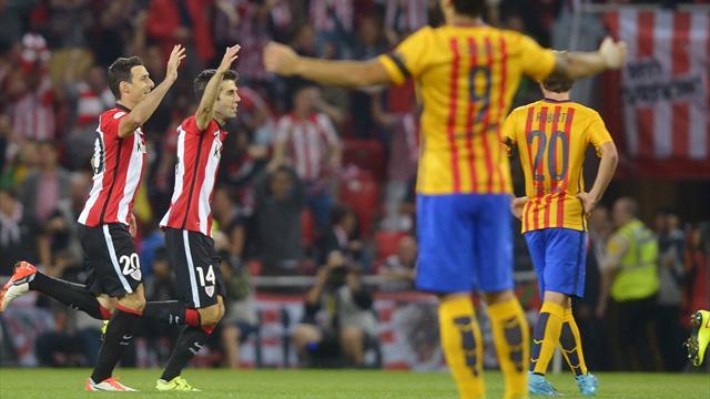 Imbarcata storica per il Barça: 4-0 Athletic al San Mames!