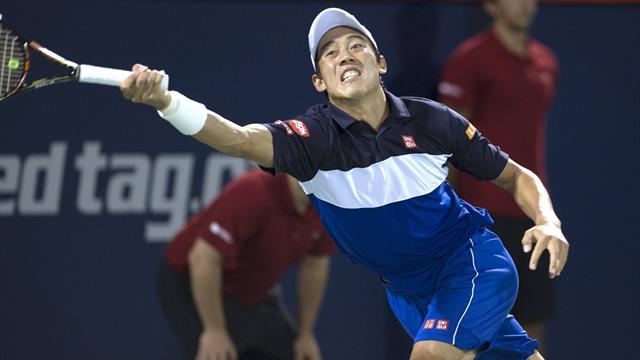 Nishikori donne la leçon à Nadal, Djokovic revient de loin