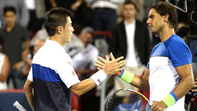 Nadal beaten in Montreal, Djokovic and Murray through