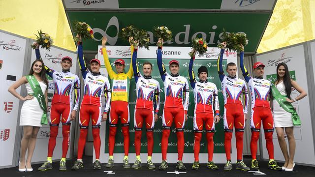 «Катюша» сохранит название, но будет считаться швейцарской командой