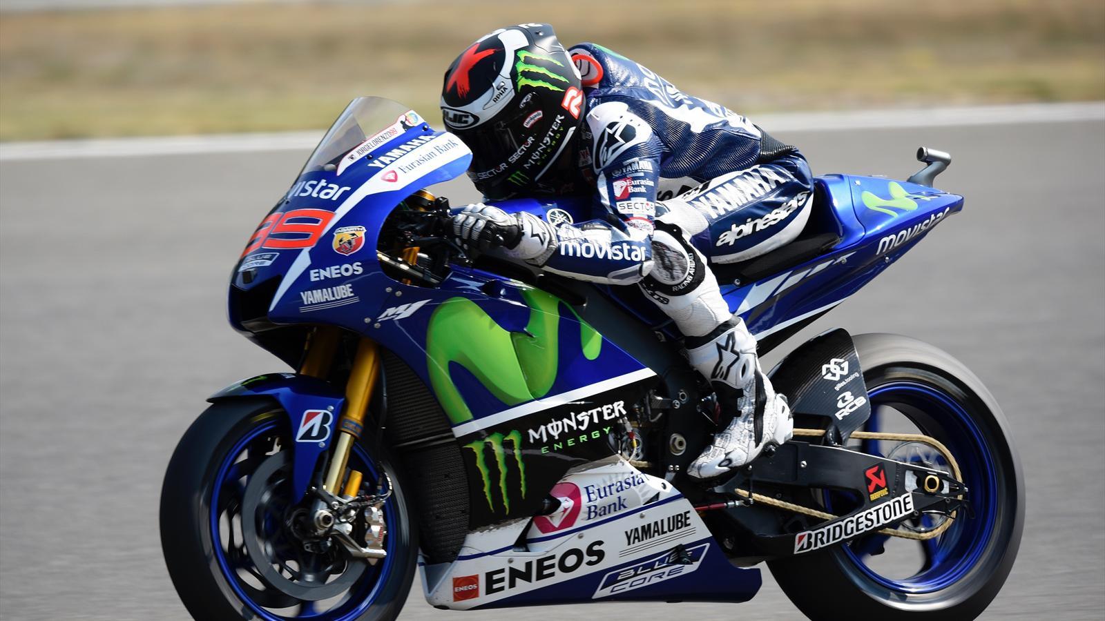 Jorge Lorenzo of Yamaha