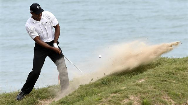 Struggling Tiger Woods misses cut at third major in a row