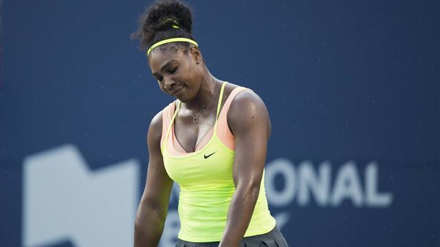 Surprise par la sensation Bencic, Serena connait son 2e accroc de l'année