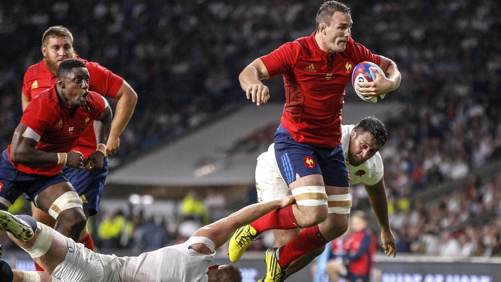 Pr paration coupe du monde xv de france louis picamoles - Coupe de france rugby 2015 ...