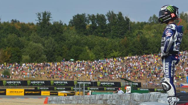 Лоренсо одержал победу на «Гран-при Чехии»