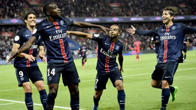 Deux buts en vingt minutes, et le PSG s'installe (déjà) en tête