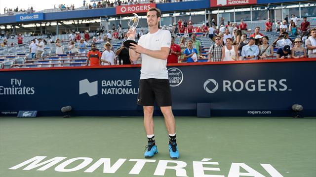 Andy Murray beats Novak Djokovic to win Montreal Masters