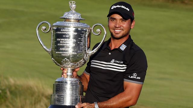 Jason Day holds off Jordan Spieth to win first major at US PGA Championship