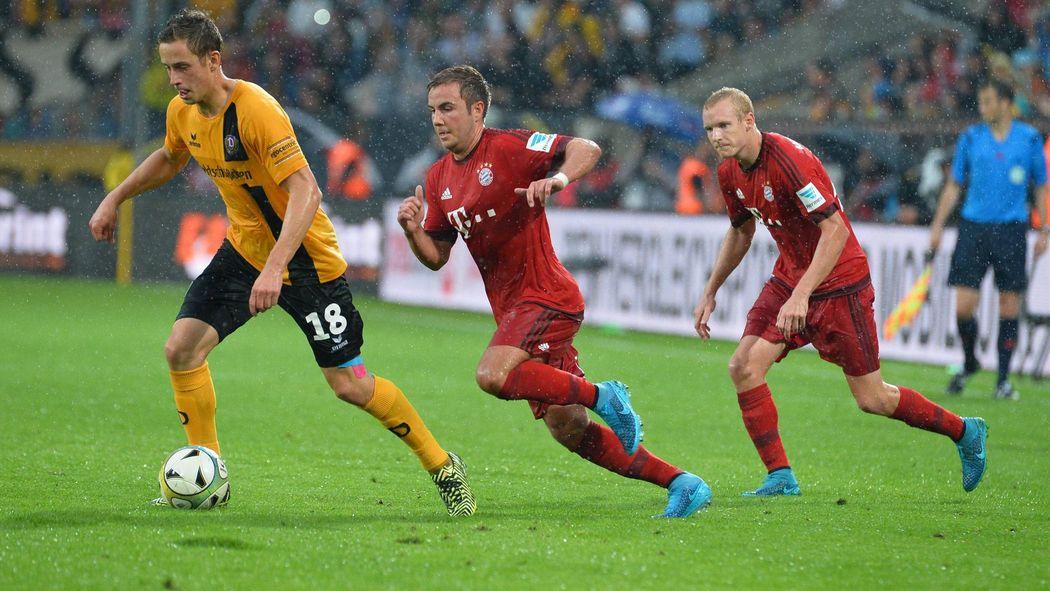 Bayern München Gewinnt Benefizspiel Bei Dynamo Dresden Mit 31