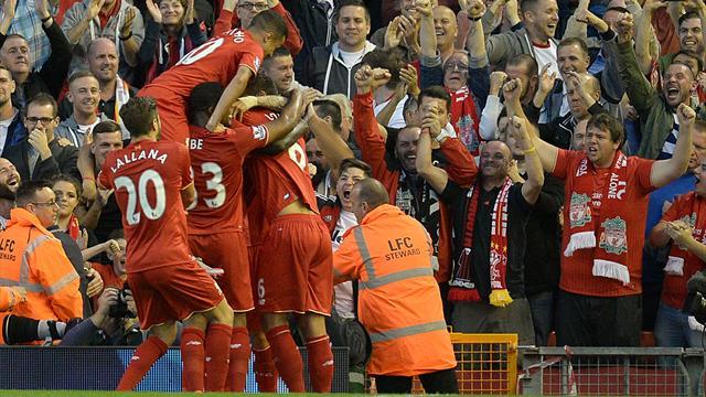 A défaut de convaincre, Liverpool continue de gagner