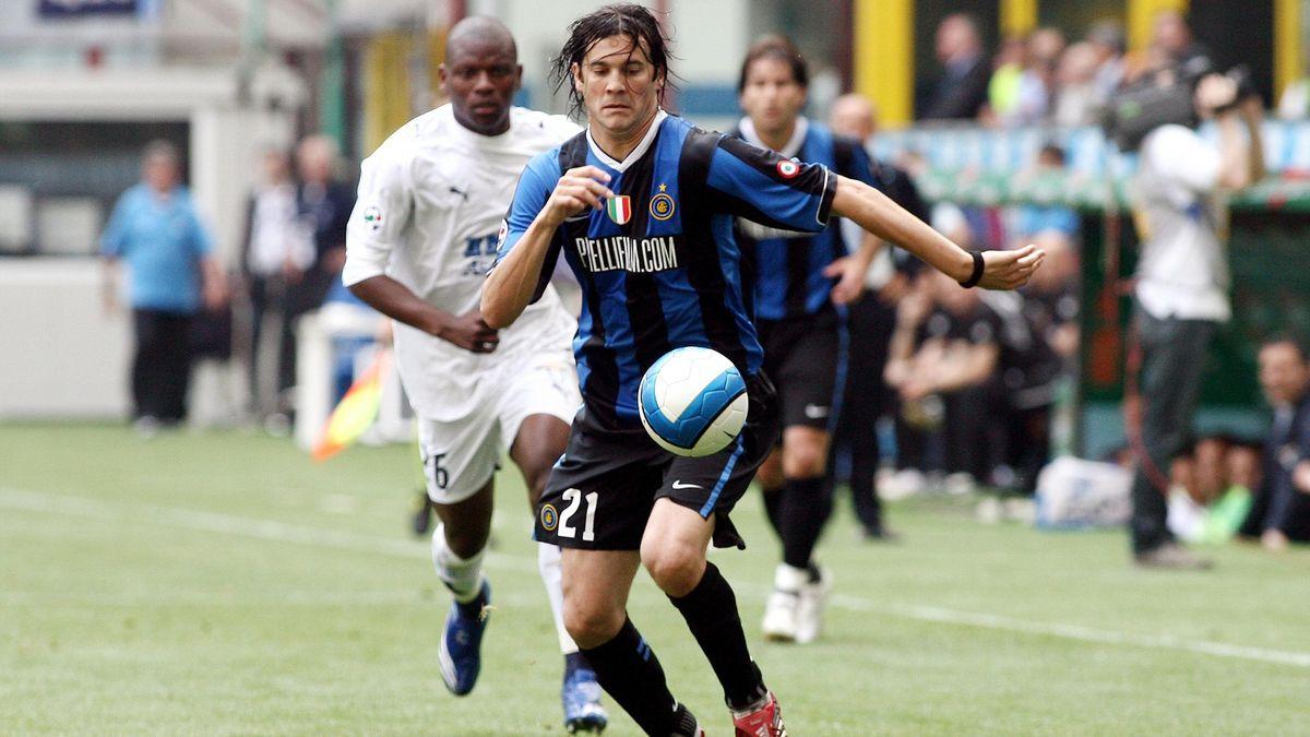 Santiago Solari in una delle sue gare con l'Inter, LaPresse