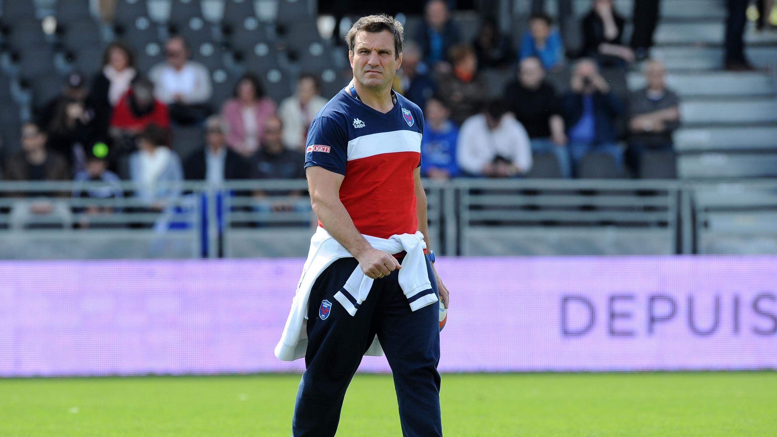Fabrice Landreau (Grenoble) face à Lyon - 23 mai 2015