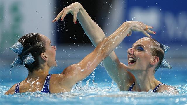 Ищенко и Ромашина выиграли золото в соревнованиях дуэтов