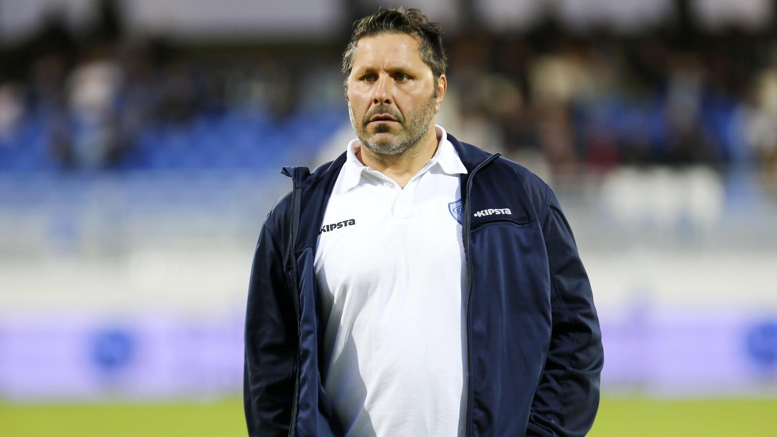 Mauricio Reggiardo (Albi) sous ses anciennes couleurs de Castres - avril 2015