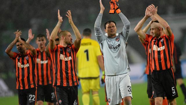 Le Shakhtar bien parti, le FC Bâle accroché