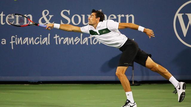 Chardy a vendang� contre Nadal, Paire n'a pas tenu la distance face � Djokovic