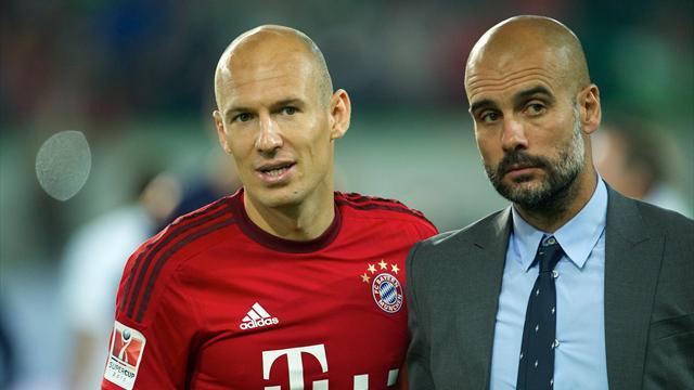 Роббен: «Гвардиола не позовет в «Сити» никого из игроков «Баварии»
