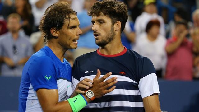 Si Murray n'a fait que vaciller, Nadal est bien tombé