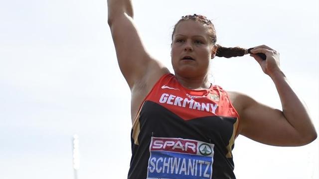 Schwanitz encore sacrée au lancer du poids