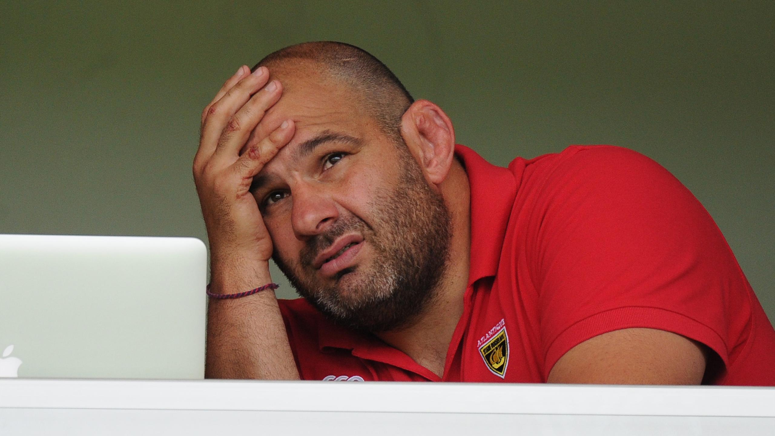 Patrice Collazo, le manager de La Rochelle - 2015