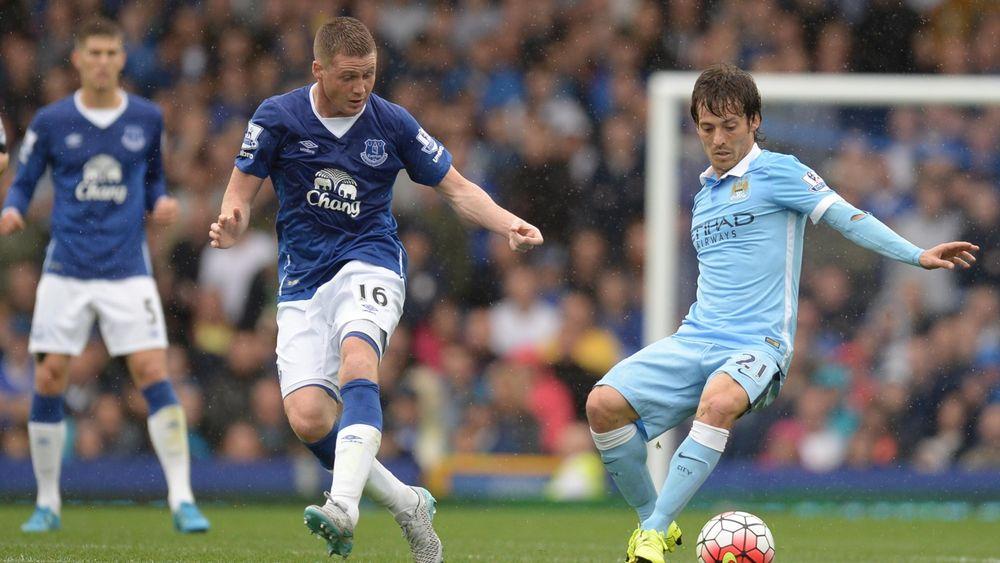 Manchester City und der FC Everton lieferten ein umkämpftes Spiel
