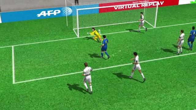 3D Goals: Udinese's Cyril Thereau stuns Juventus