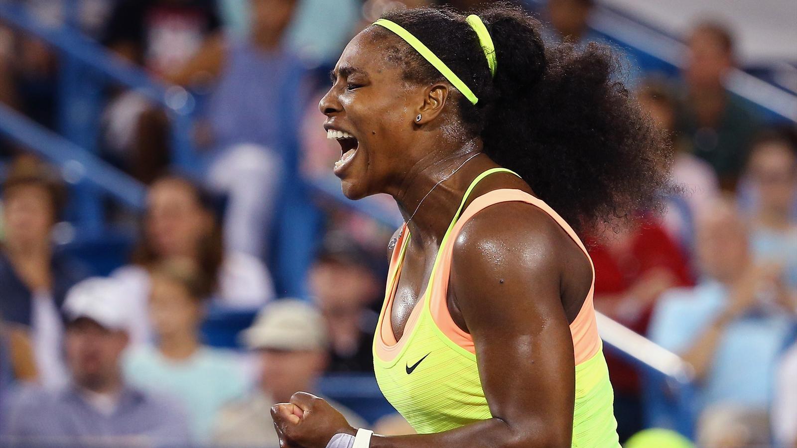 Serena Williams à Cincinnati  - 2015
