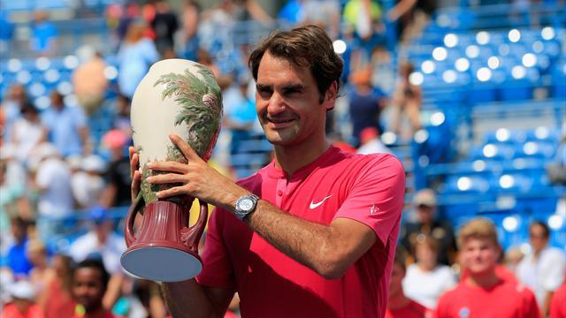 Finale idéale, week-end de rêve, semaine parfaite... Federer entame bien sa 35e année