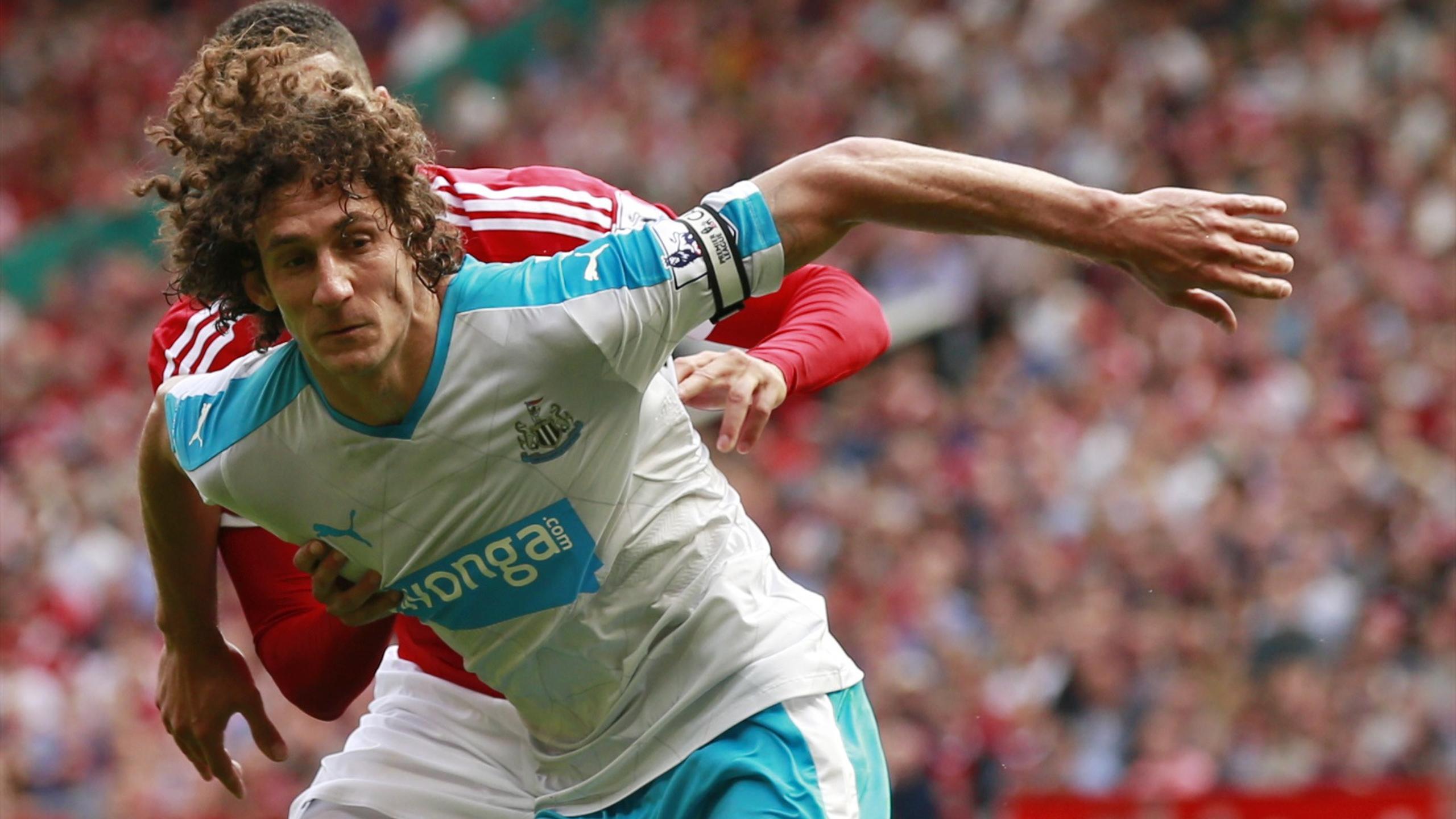 Newcastle United's Fabricio Coloccini in action